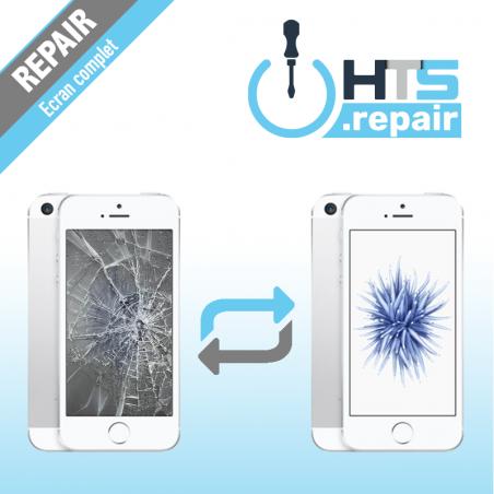 Remplacement écran complet (LCD + Tactile) Apple iPhone SE blanc