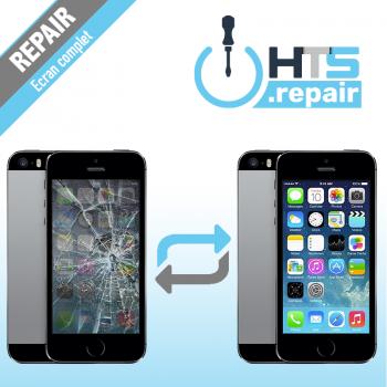 Remplacement écran complet (LCD + Tactile) Apple iPhone 5S noir