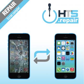 Remplacement écran complet (LCD + Tactile) Apple iPhone 5C