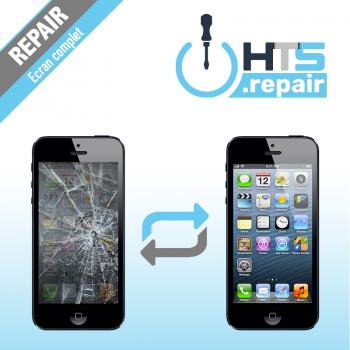 Remplacement écran complet (LCD + Tactile) Apple iPhone 5 noir