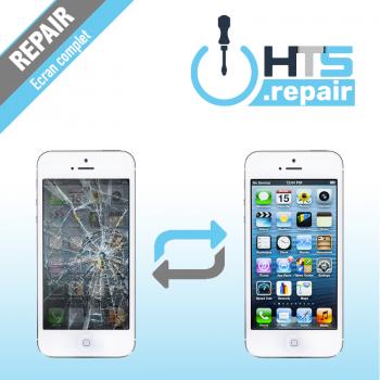 Remplacement écran complet (LCD + Tactile) Apple iPhone 5 blanc