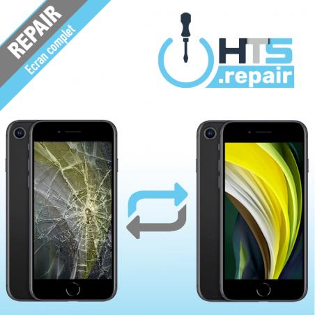Remplacement écran complet (LCD + Tactile) Apple iPhone SE 2020 2ème Gen.