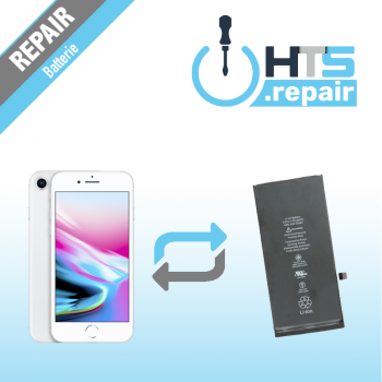 Remplacement batterie APPLE iPhone 8 blanc
