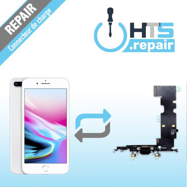 Remplacement connecteur de charge APPLE iPhone 8 Plus blanc