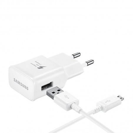 Chargeur secteur Samsung 2A + câble micro USB