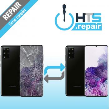 Remplacement écran complet (LCD + Tactile) Samsung Galaxy S20+ (G985F) Noir
