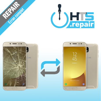 Remplacement écran complet (LCD + Tactile) Samsung Galaxy J5 2017 (J530F) Or