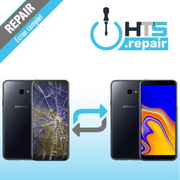 Remplacement écran complet (LCD + Tactile) Samsung Galaxy J4+ 2018 (J415F)