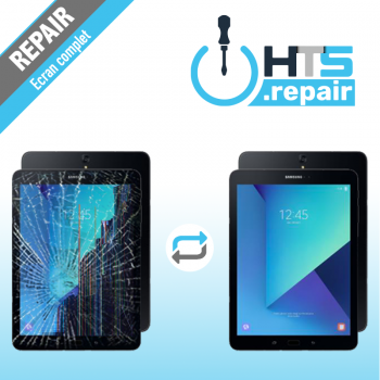 """Remplacement écran complet (LCD + Tactile) SAMSUNG Galaxy Tab S3 9,7"""" (T820/T825)"""