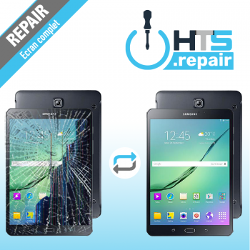 """Remplacement écran complet (LCD + Tactile) SAMSUNG Galaxy Tab S2 8"""" (T710/T715)"""