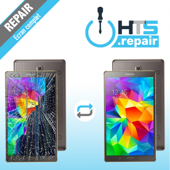 """Remplacement écran complet (LCD + Tactile) SAMSUNG Galaxy Tab S 8,4"""" (T700/T705)"""