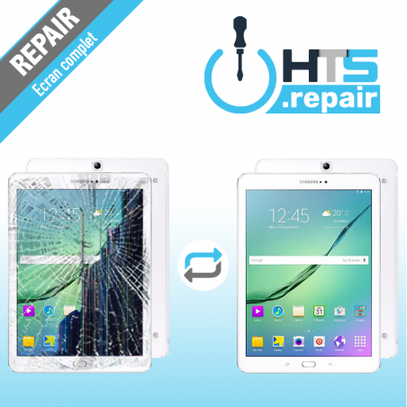 """Remplacement écran complet (LCD + Tactile) SAMSUNG Galaxy Tab S2 9,7"""" (T810/T813/T815/T819)"""