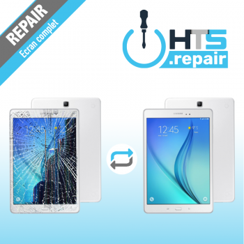 """Remplacement écran complet (LCD + Tactile) SAMSUNG Galaxy Tab A 9,7"""" (T550/T555)"""