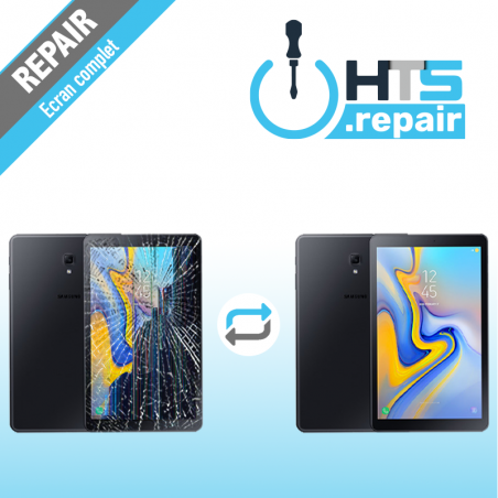 """Remplacement écran complet (LCD + Tactile) SAMSUNG Galaxy Tab A 10,5"""" 2018 (T590/T595)"""