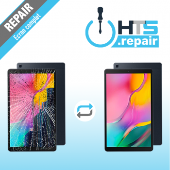 """Remplacement écran complet (LCD + Tactile) SAMSUNG Galaxy Tab A 10,1"""" 2019 (T510/T515)"""