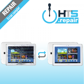 """Remplacement écran complet (LCD + Tactile) SAMSUNG Galaxy Tab 4 7"""" (T230/T235)"""