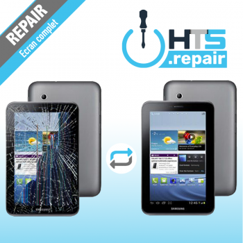 "Remplacement écran complet (LCD + Tactile) SAMSUNG Galaxy Tab 2 7"" (P3100/P3110)"