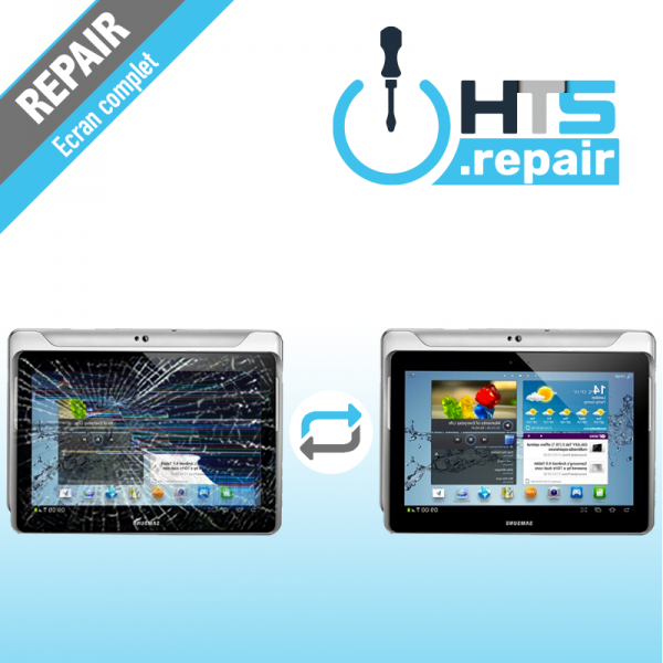 "Remplacement écran LCD SAMSUNG Galaxy Tab 2 10,1"" (P5100/P5110)"