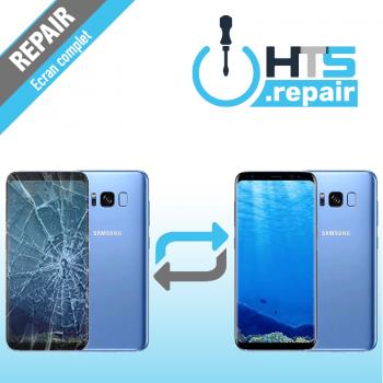 Remplacement écran complet (LCD + Tactile) Samsung Galaxy S8+ (G955F) Bleu