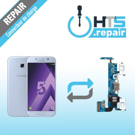 Remplacement connecteur de charge SAMSUNG Galaxy A5 2017 (A520F) bleu