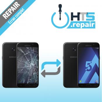 Remplacement écran complet (LCD + Tactile) Samsung Galaxy A5 2017 (A520F) Noir