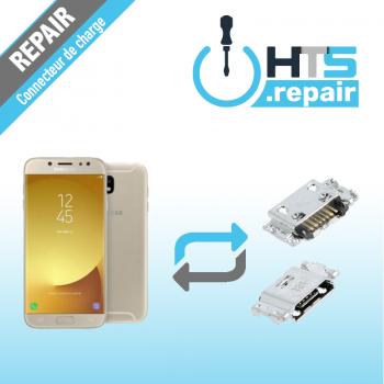 Remplacement connecteur de charge SAMSUNG Galaxy J3 2017 (J330F) or
