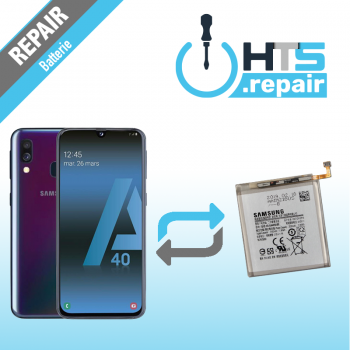 Remplacement batterie d'origine SAMSUNG Galaxy A40 (A405F)