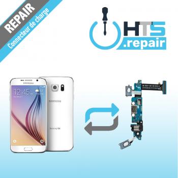 Remplacement connecteur de charge SAMSUNG Galaxy S6 (G920F) blanc
