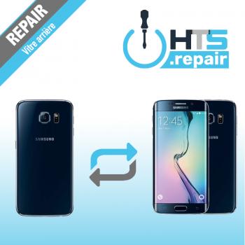 Remplacement vitre arrière d'origine SAMSUNG Galaxy S6 Edge (G925F) noir
