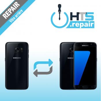 Remplacement vitre arrière d'origine SAMSUNG Galaxy S7 (G930F) noir
