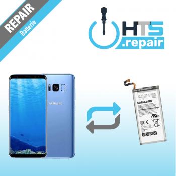 Remplacement batterie d'origine SAMSUNG Galaxy S8 (G950F) bleu