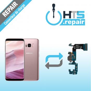 Remplacement connecteur de charge SAMSUNG Galaxy S8 (G950F) rose