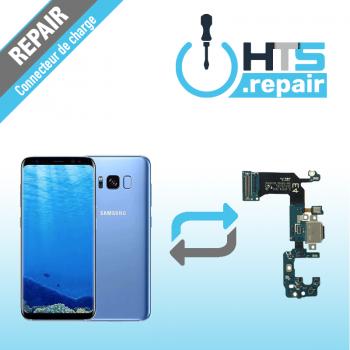 Remplacement connecteur de charge SAMSUNG Galaxy S8+ (G955F) bleu