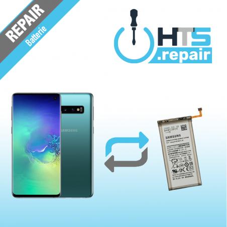 Remplacement batterie d'origine SAMSUNG Galaxy S10 (G973F) vert