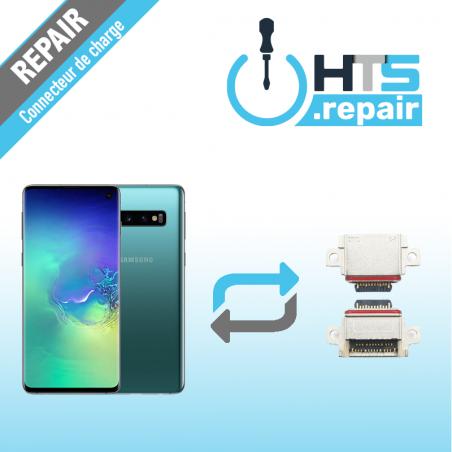 Remplacement connecteur de charge SAMSUNG Galaxy S10 (G973F) vert