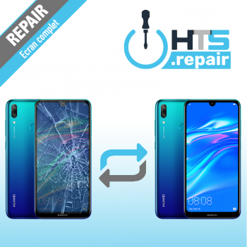 Remplacement écran complet (LCD + Tactile) Huawei Y7 2019