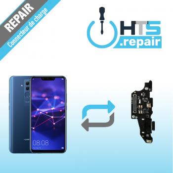 Remplacement connecteur de charge HUAWEI Mate 20 Lite bleu