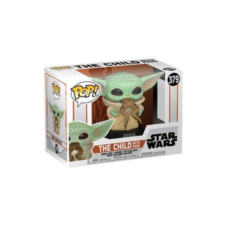 POP! STAR WARS - THE MANDALORIAN - THE CHILD WITH FROG 379