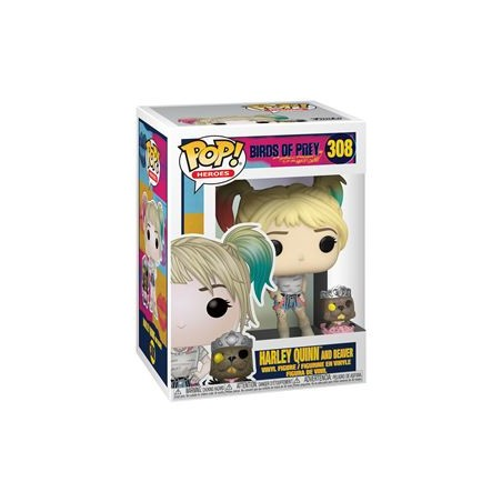 POP! BIRDS OF PREY - HARLEY QUINN AND BEAVER 308