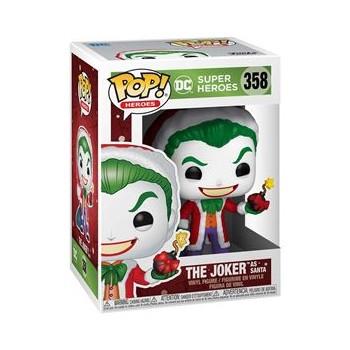POP! SUPER HEROES DC - THE JOKER AS SANTA 358