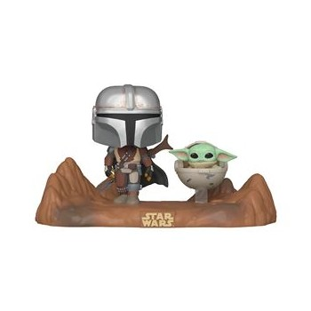 POP! STAR WARS - THE MANDALORIAN WITH THE CHILD 390
