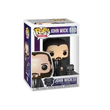 POP! JOHN WICK WITH DOG 580