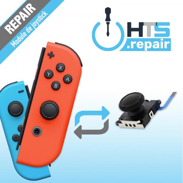Remplacement module de joystick Joycon Nintendo Switch