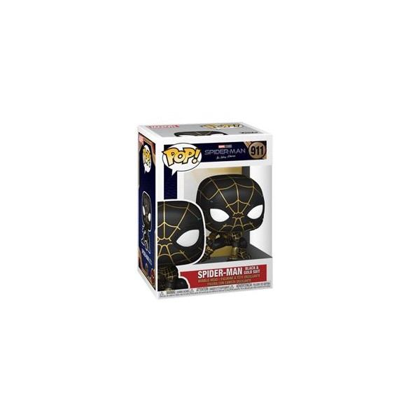 POP! MARVEL - SPIDER-MAN NO WAY HOME - BLACK AND GOLD SUIT 911